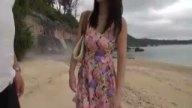 一人で浜辺を歩くギャルをナンパ→案の定即ハメできました