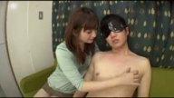 ムチムチ巨乳の人妻に何度も寸止め手コキフェラされて悶絶!
