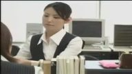 潔癖症の美人OLが汚らわしい上司にオフィスで犯される!