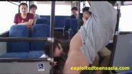 可愛い巨乳JDが通学中のバスで集団痴漢でハメられるッ!